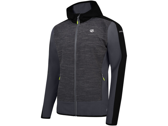 Dare 2b Appertain II Chaqueta Softshell Hombre, charcoal grey marl/black